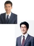 河野 英太郎 、塚越 学 氏